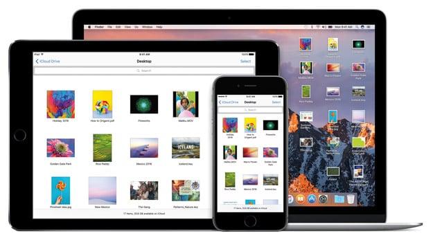 macOS Sierra iCloud Drive