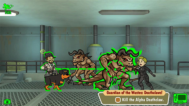 Fallout Shelter Combat