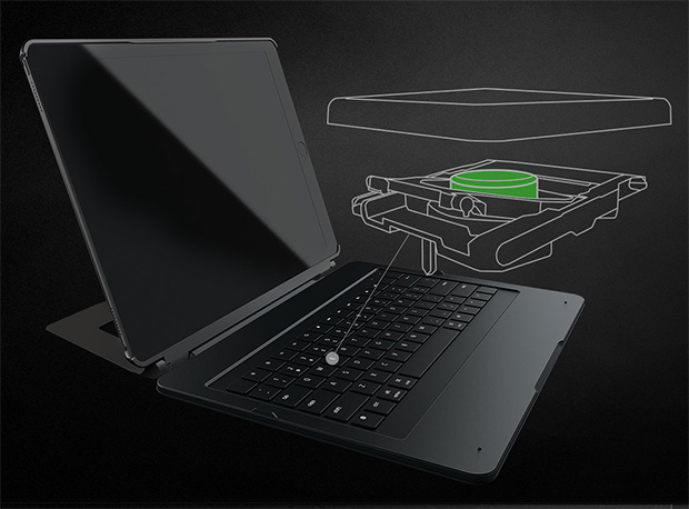 Razer Mechanical Keyboard Case for Apple iPad Pro
