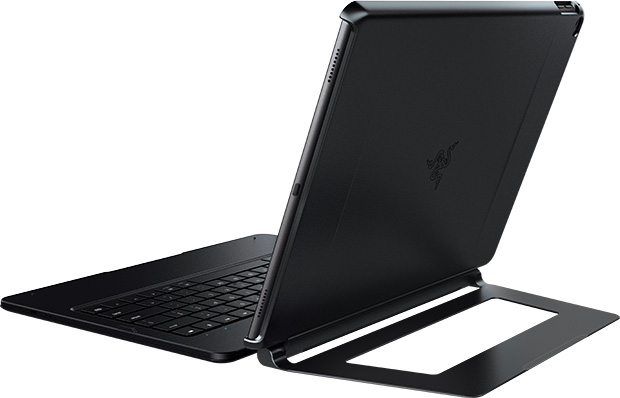 Razer Mechanical Keyboard Case for Apple iPad Pro - Back