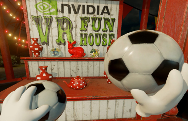 NVIDIA VR Funhouse Tech Demo Is The Ultimate Carnival