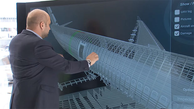 Airbus Visual Inspection RealSense