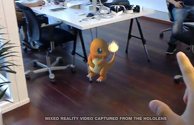 Pokemon Go Hololens