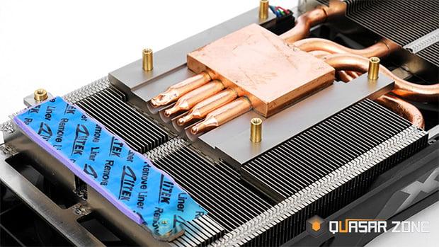 XFX Radeon RX 480 Heatpipes