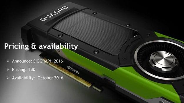 availability quadro