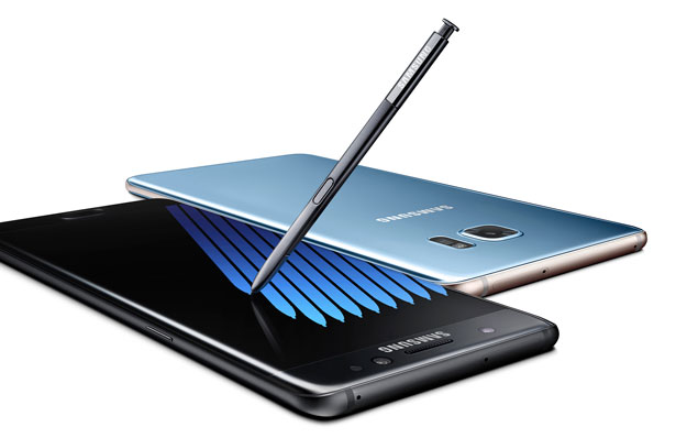 B7 Note7 black blue 2P