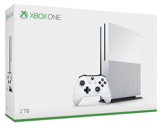 xbox one s retail box
