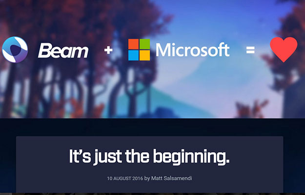 beam and microsoft