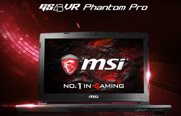 MSI GS43VR Phantom Pro