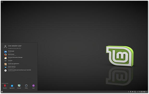 Linux Mint 18 KDE