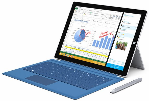 surface pro 3 all