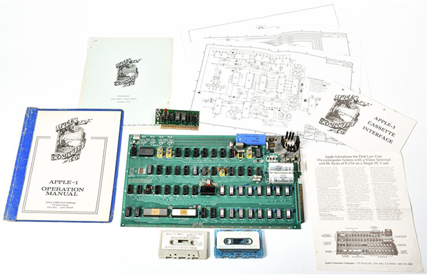 Apple-1 Auction