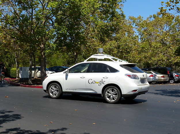 google self driving