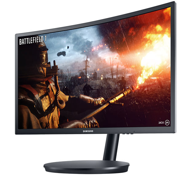 samsung curved monitor CFG70