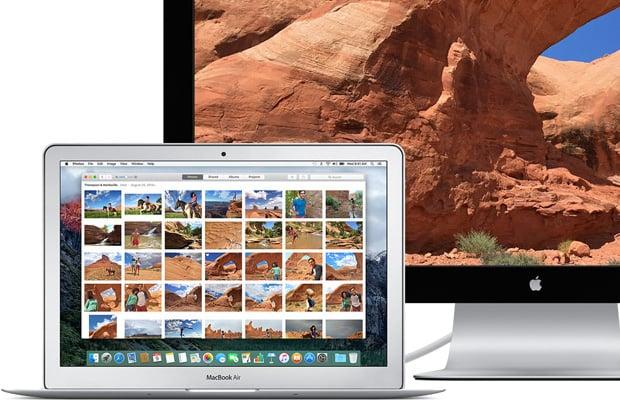 MacBook Air and Display