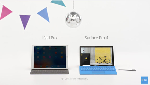 surface commercial