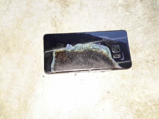 galaxy note7 fire 1