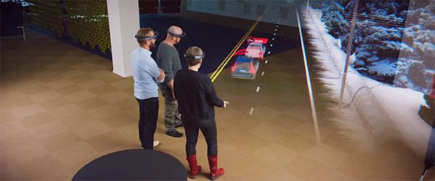 Volvo HoloLens demo