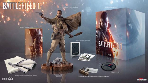 battlefield 1 collectors