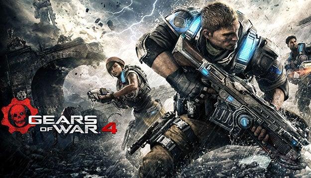 Gear of War 4 Cover Art