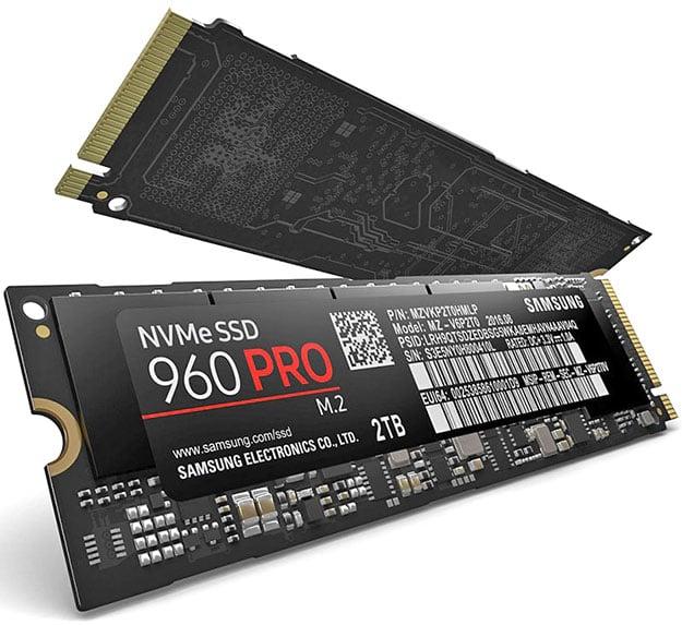 Samsung 960 Pro SSD m2