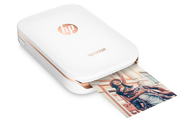 Hp Sprocket Printer Slips In Your Pocket Wirelessly