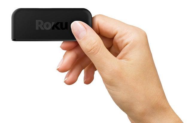 Roku Express Hand Holding