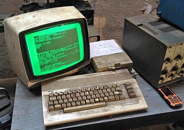 Commodore C64 Repair Shop