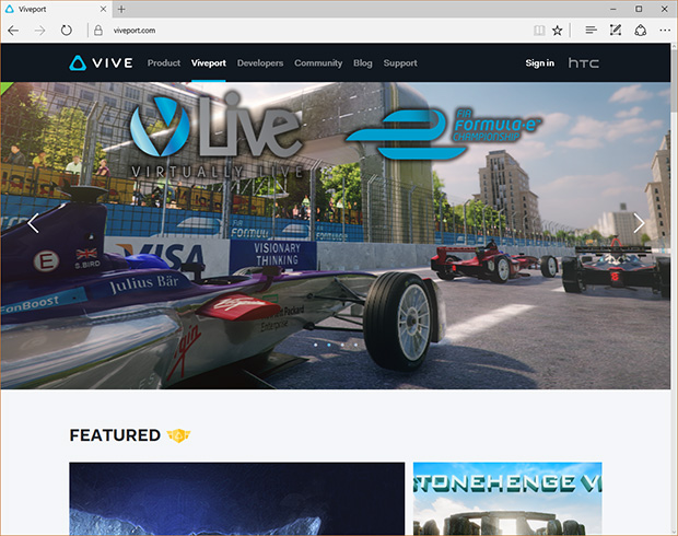 Viveport Website