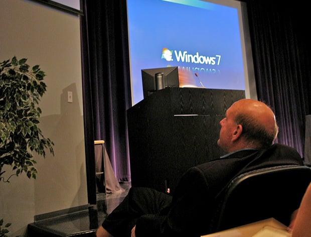 Steve Ballmer Windows 7