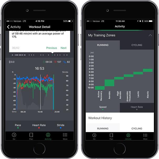 Oakley Radar Pace App