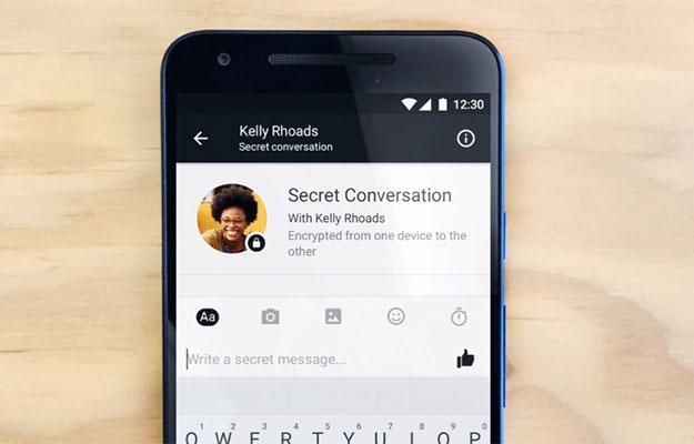 secret conversation start