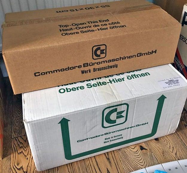 Commodore Boxes