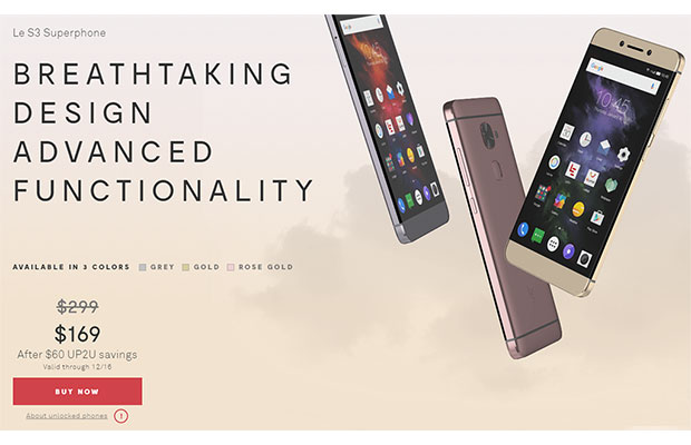 LeEco LeLeaks Its US Launch Details For New Android Phones And TVs