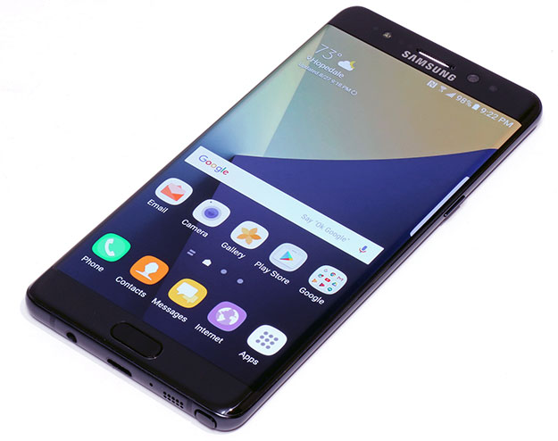 Galaxy Note7 Front