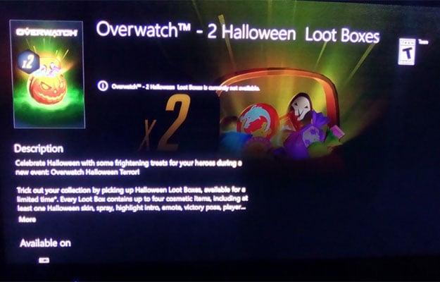 overwatch halloween ad