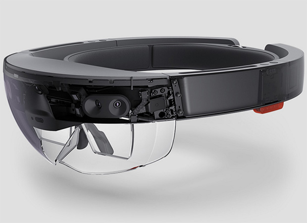 small hololens up close