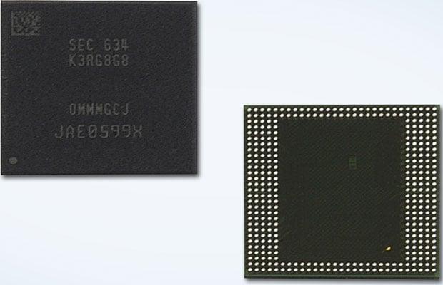 Samsung 8GB LPDDR4
