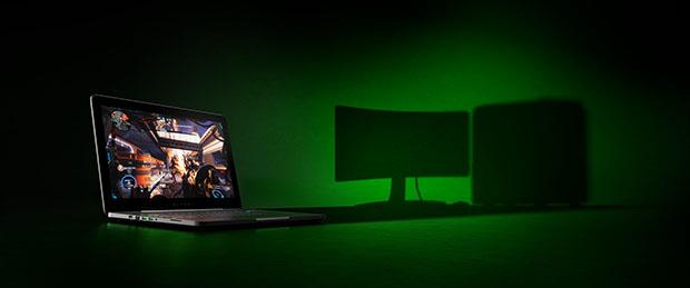 Razer Blade Pro Desktop in a Laptop