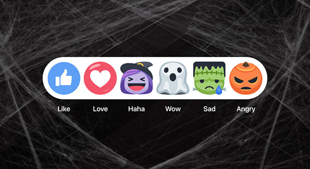 Facebook Halloween Emoticons