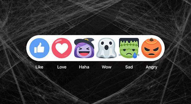 Facebook Halloween Emoticons
