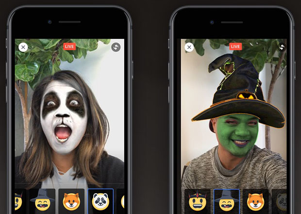 Facebook Messenger Halloween