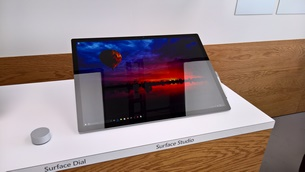 ms surface studio hands on 9