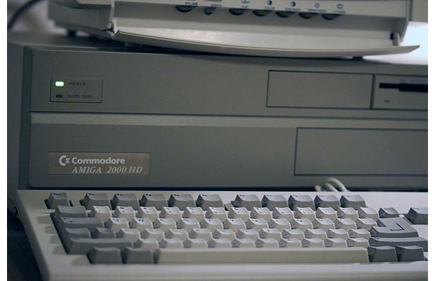 Commodore Amiga 2000 HD Front