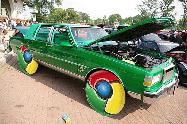 Chrome Car