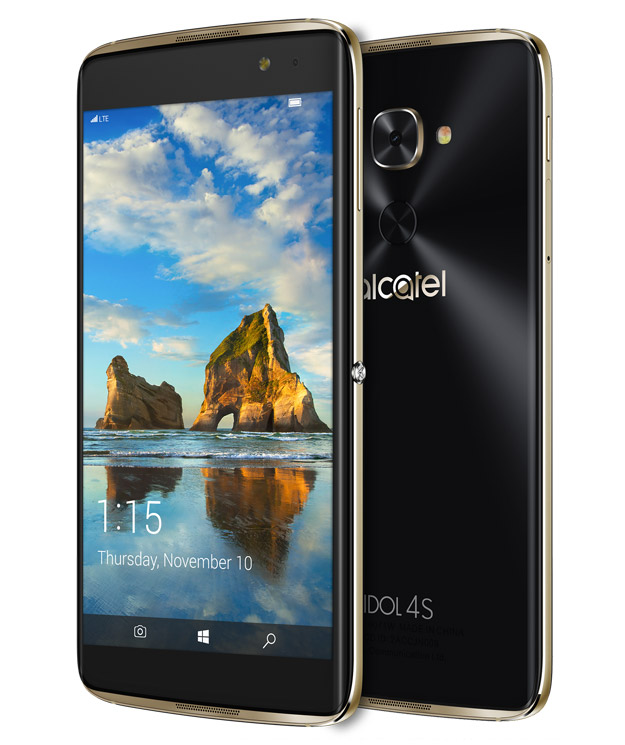 Microsoft And T-Mobile Announce $470 Alcatel Idol 4S Windows 10 Mobile VR Flagship