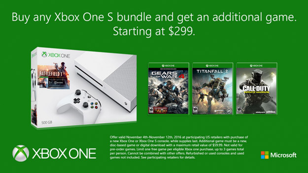 xbox one s banner