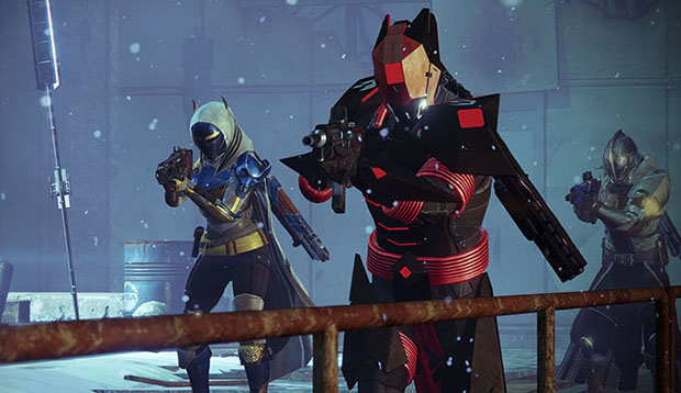 Destiny Rise of Iron Promo