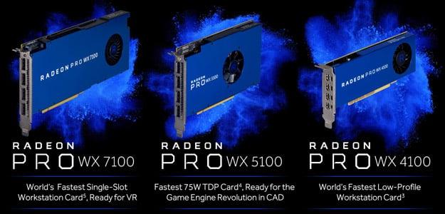 radeon pro WX series