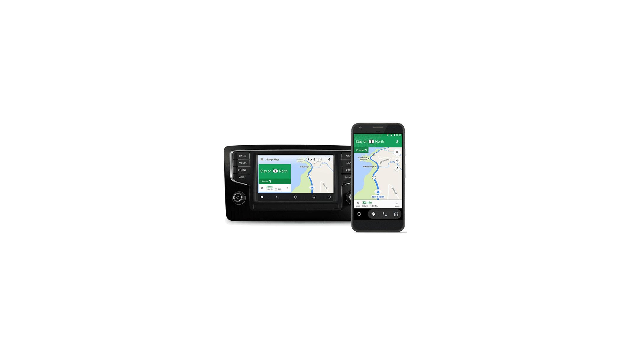 Android Auto's Streamlined Interface Now Available On Any Car Via